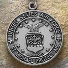 Personalized St. Michael Air Force Medallion