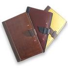 Handcrafted Leather Writing Pad Portfolio