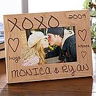Hugs & Kisses Personalized Photo Frame