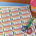 Personalized Kid's Property Labels