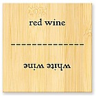 Red Wine / White Wine Flip Flop Sign