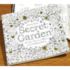 Secret Garden Treasure Hunt and Coloring Book