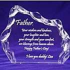 Father's Day Iceberg Plaque
