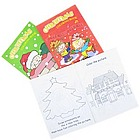 "11"" Christmas Coloring Book"