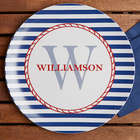 Personalized Anchors Away Melamine Plate