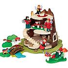 Tree Trunk Fairy Home Doll House Set