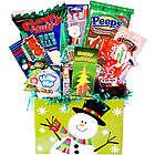 Making Spirits Bright Deluxe Christmas Snacks Gift Basket
