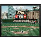 Baltimore Orioles Personalized Scoreboard 11x14 Framed Canvas