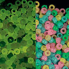 1 Lb. of Glow-in-the-Dark Pony Beads