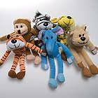 Plush Hanging Zoo Animals