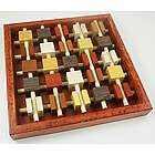 Brochettes Handcrafted Wood Puzzle