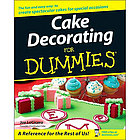 Cake Decorating for Dummies Paperback Book