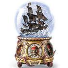 Pirates of the Caribbean Black Pearl Musical Glitter Globe