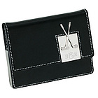 Leather Golf Card Case Holder