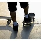 Skateboarding in Manhattan