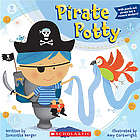 Pirate Potty Paperback Book for Boys