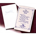 Baby's Satin Keepsake Bible
