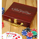 Groomsmen Personalized Poker Set