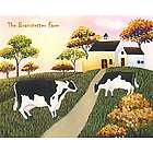 Farm Life Personalized Art Print