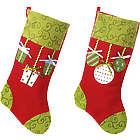 Personalized Plush Christmas Stocking