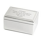 Pomp & Circumstance Jewelry Box