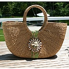 Sanibel Shell Basket Bag