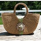 Sanibel Shell Basket Bag