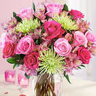 All The Frills Flowers Bouquet with Vase