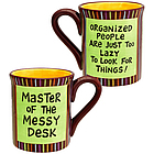 Master of the Messy Desk Mug
