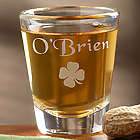 Irish Heritage Personalized Shot Glass