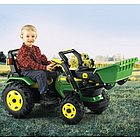 John Deere Chain Driven Ride On Tractor with Loader