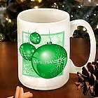 Green Ornament Coffee Mug