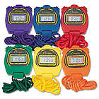 Colorful Water-Resistant Stopwatches