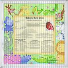 Framed Birthday Keepsake Color Print