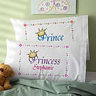 Jr. Royalty Personalized Pillowcase