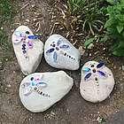 Dragonfly Garden Stone