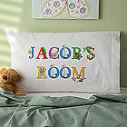 Personalized Alphabet Animals Pillowcase