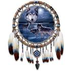 Guardians of the Night Leather Dreamcatcher