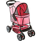 Pink Multi-Terrain Pet Carrier and Jogger Stroller