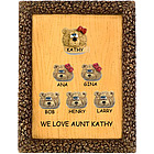 Personalized Plaque for Aunt