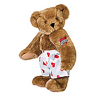 "15"" Heart Throb Teddy Bear with Tattoo"