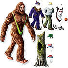 Dress Up Bigfoot Magnet Set
