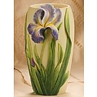 Bearded Iris Medium Table Vase