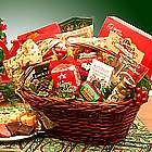 Happy Holiday Greetings Snack Gift Basket