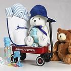 Baby Boy Welcome Wagon Gift Basket