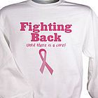 Fighting Back Breast Cancer Awareness Sweatshirt