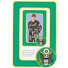 US Army Crest Photo Frame Magnets