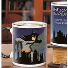 Batman Personalized Black Handle 11-Ounce Coffee Mug