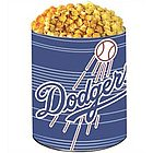 Los Angeles Dodgers 3 Way Popcorn Tin