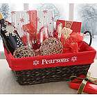 Personalized Red Holiday Liner for Basket